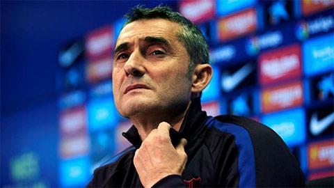 Valverde không chắc giữ được ghế sau thất bại của Barca trước Atletico