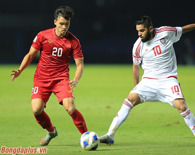 U23 Việt Nam hòa U23 UAE - Ảnh: Minh Tuấn