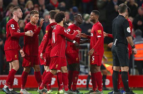 Liverpool đang sở hữu phong độ cực kỳ ấn tượng tại Ngoại hạng Anh