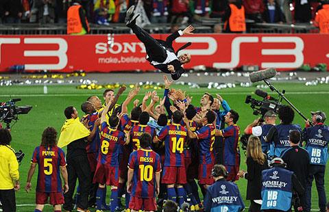 Barcelona dưới thời Pep Guaridola đang là đội bóng vĩ đại nhất lịch sử