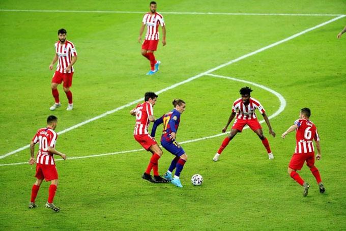 Barca thua Atletico: Chiến bại bất thường rất bình thường