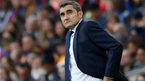 Barca sẽ họp bàn có sa thải HLV Valverde hay không?