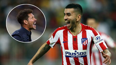 Simeone và người hùng Correa tự tin hạ đẹp Real như với Barca