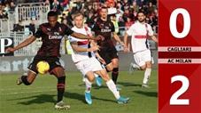 Cagliari 0-2 AC Milan(Vòng 19 Seri A 2019/20)