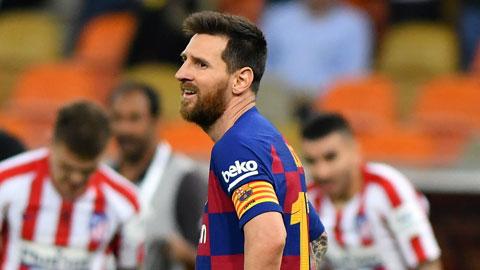 Messi cũng không còn cứu được Barca