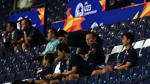 HLV Park Hang Seo 'do thám' U23 Jordan và Triều Tiên