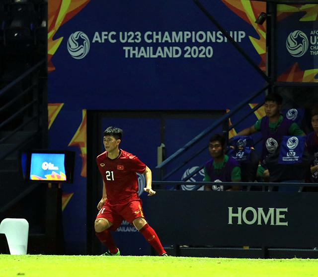Cầu thủ đang khoác áo Hà Nội FC đã được gọi ra khởi động