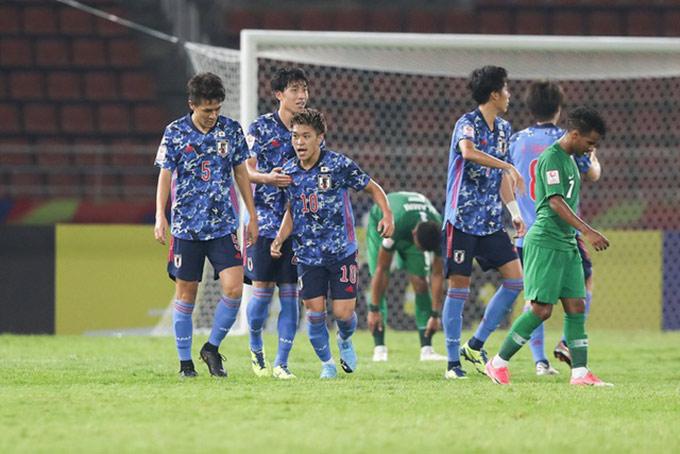 U23 Nhật Bản thua sốc trận ra quân