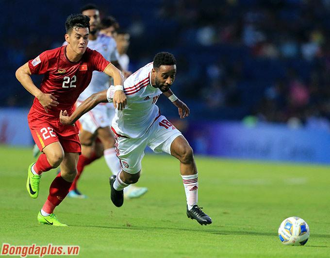 U23 Việt Nam hoàn thành mục tiêu hòa U23 UAE - Ảnh: Minh Tuấn