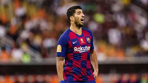 Barca tái mặt vì Luis Suarez phải lên bàn mổ