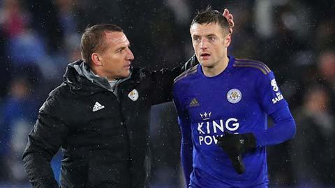 Rodgers không thích Jamie Vardy quay lại ĐT Anh