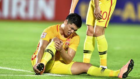 'Ibrahimovic của Trung Quốc' sớm chia tay VCK U23 châu Á