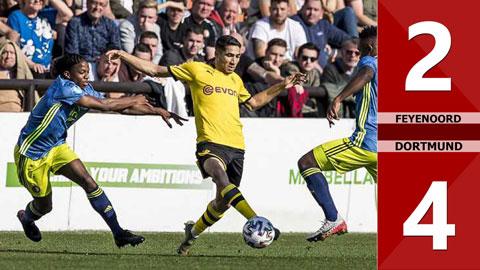 Feyenoord 2-4 Dortmund(Vòng 17 Bundetliga 2019/20)