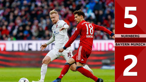 Nurnberg 5-2 Bayern Munich(Vòng 17 Bundetliga 2019/20)