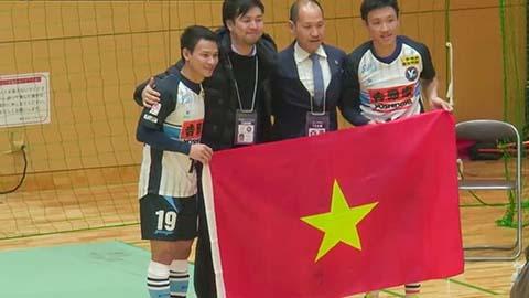 Tuyển thủ futsal Việt Nam giúp đội bóng Nhật Bản thăng hạng