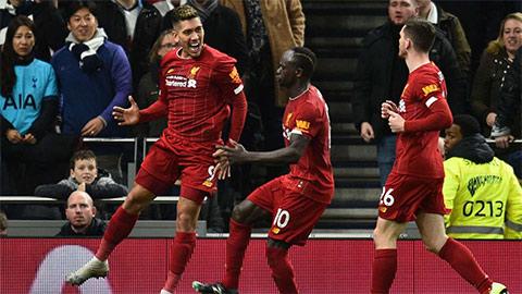 Liverpool lập kỳ tích lịch sử sau chiến thắng Tottenham