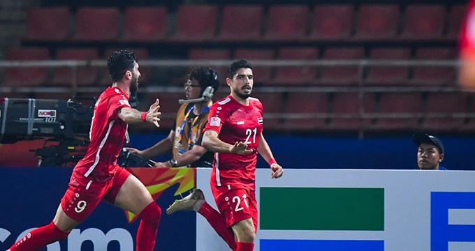 U23 Syria thắng thuyết phục U23 Nhật Bản - Ảnh: AFC