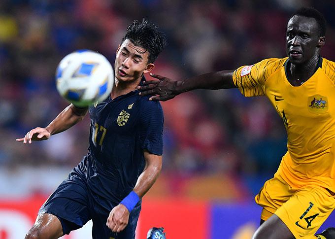 U23 Thái Lan thua ngược đáng tiếc 1-2 trước U23 Australia