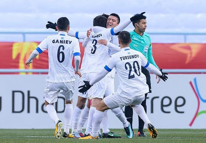 U23 Uzbekistan đứng trước cơ hội vào tứ kết