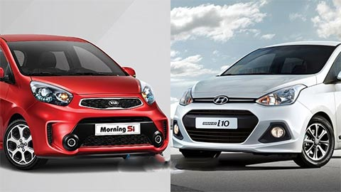 Hyundai Grand i10 'bá đạo' nhất phân khúc, cho Kia Morning, Toyota Wigo giá rẻ ngửi khói