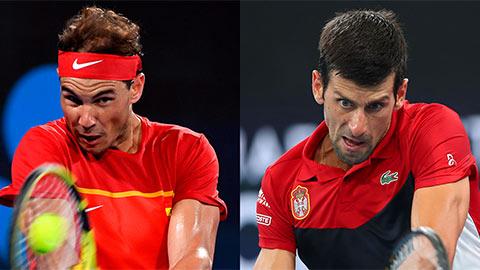Nadal 'đại chiến' Djokovic ở chung kết trong mơ ATP Cup 2020