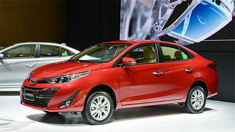 Toyota Vios giảm giá siêu khủng, lấy lại ngôi vương từ Mitsubishi Xpander