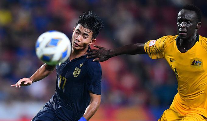 Thái Lan thua thiệt về thể lực trước Australia