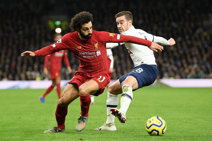 Winks cùng các đồng đội bất lực trong việc ghi bàn vào lưới Liverpool
