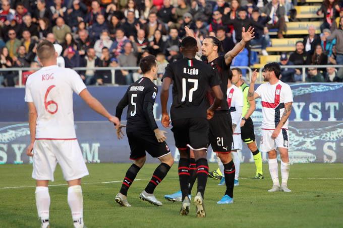 Ibrahimovic đã có bàn thắng đầu tiên cho Milan ở Serie A 2019/20 chỉ sau 2 trận được thi đấu