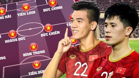 Đội hình dự kiến U23 Việt Nam vs U23 Jordan: Đình Trọng lĩnh xướng hàng thủ?