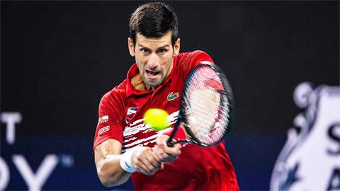 Djokovic 2-0 Nadal (chung kết ATP Cup 2020)