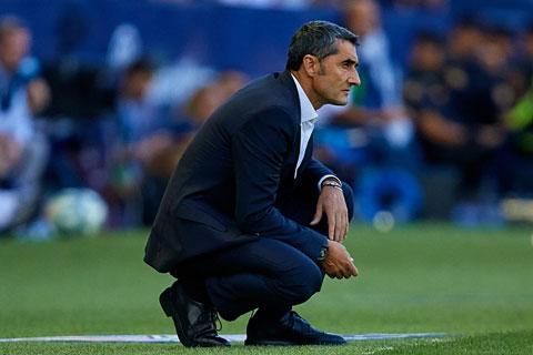 Barca đã mất kiên nhẫn với Valverde