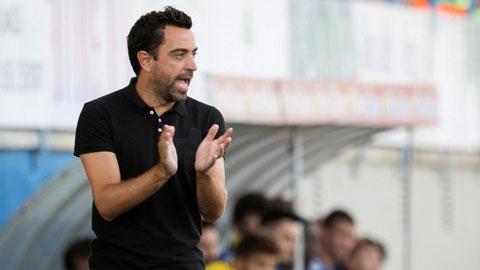 Xavi chưa sẵn sàng dẫn dắt Barca