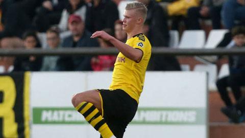 Haaland ra mắt nhạt nhòa tại Dortmund