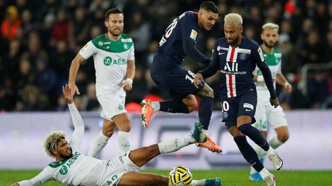 Có một... hậu vệ Neymar