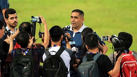 HLV U23 Jordan thất vọng vì bị U23 Việt Nam cầm hòa