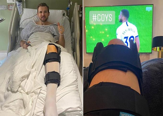 Kane đã phẫu thuật chấn thương thành công