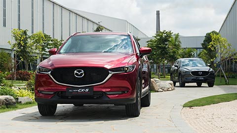 Mazda CX-5 giảm giá 100 triệu đồng, quyết đấu Honda CR-V, Hyundai Tucson 2020