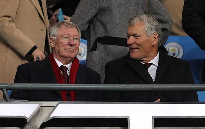 Sir Alex và cựu giám đốc điều hành David Gill có mối quan hệ mật thiết