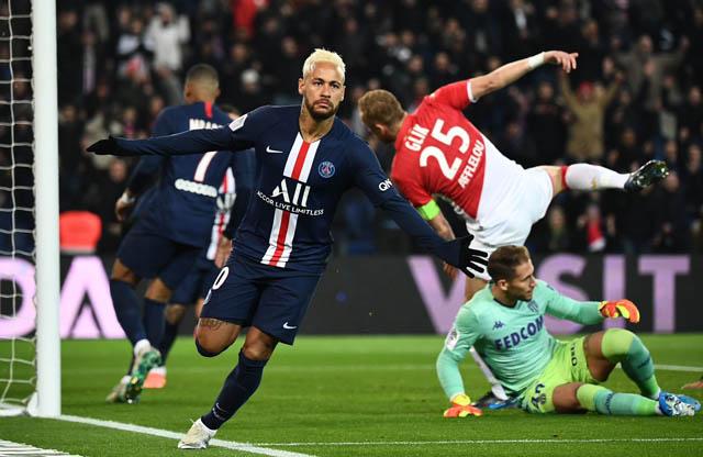 Neymar đã chơi rất hay nhưng PSG lại không thể bảo toàn chiến thắng