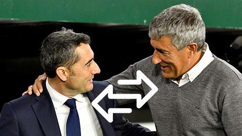 Barca sa thải HLV Valverde, bất ngờ bổ nhiệm Quique Setien làm thuyền trưởng mới