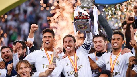 Real Madrid vô địch Siêu Cúp Tây Ban Nha: Cú đột phá tuyệt vời