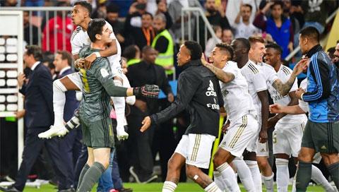 Real Madrid: Chiếc cúp của sự hồi sinh Real1