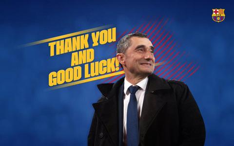 Barca và lời cảm ơn dành cho hơn 2 năm cống hiến của Valverde
