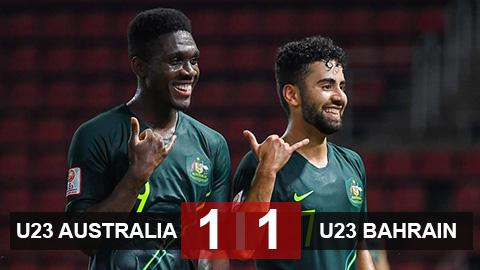 U23 Australia 1-1 U23 Bahrain: Australia hoàn thành mục tiêu