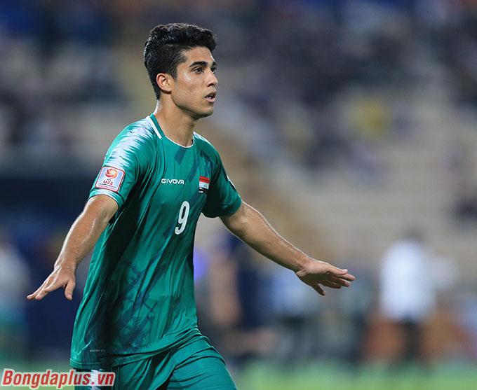U23 Iraq gỡ hòa đầu hiệp 2 - Ảnh: Minh Tuấn