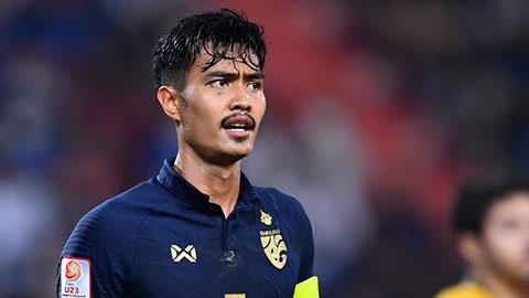 U23 Thái Lan dùng nhiều cầu thủ dự bị cho trận quyết định với U23 Iraq
