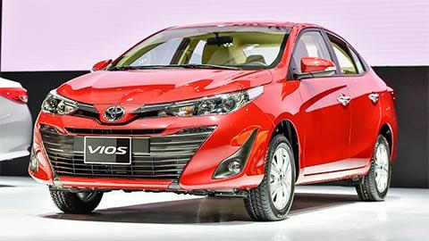 Toyota Vios 'đè bẹp' Hyundai Accent, Kia Soluto giá rẻ ở phân khúc hạng B