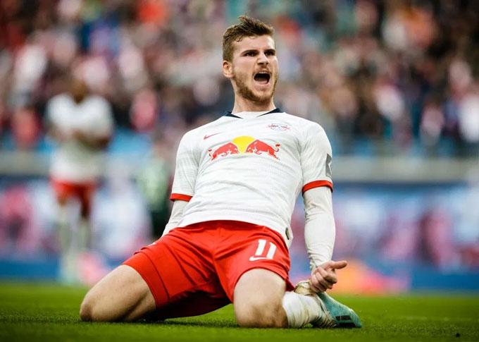 Werner đang là một trong những ngôi sao sáng xem bậc nhất Bundesliga