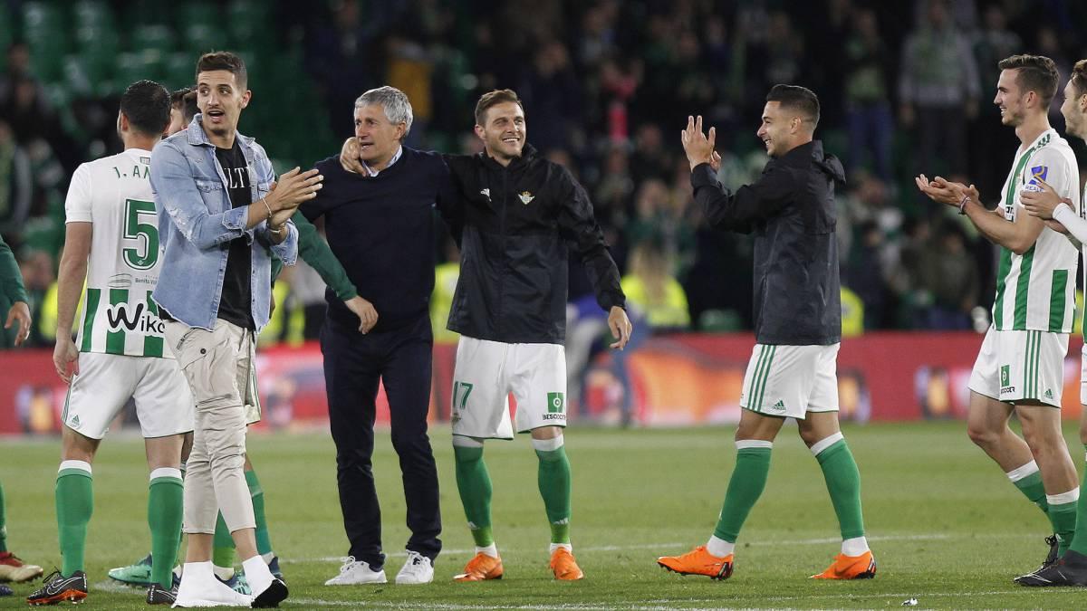 Quique Setién từng khá thành công với Betis
